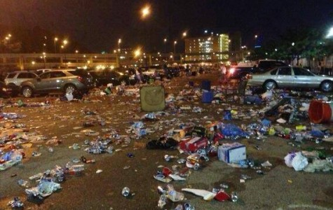 Heinz Field is taking out the trash