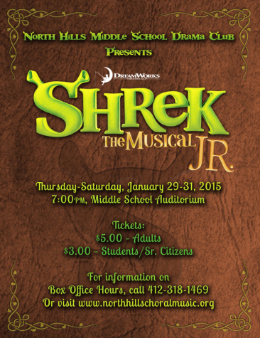 """Shrek the Musical Jr."" swamps the hilltop January 28th"