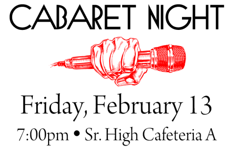 The Mic Drops on Friday… Come to Cabaret Night!