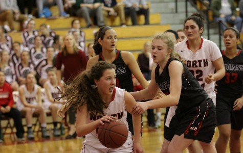 Lady Indians win cross-section matchup