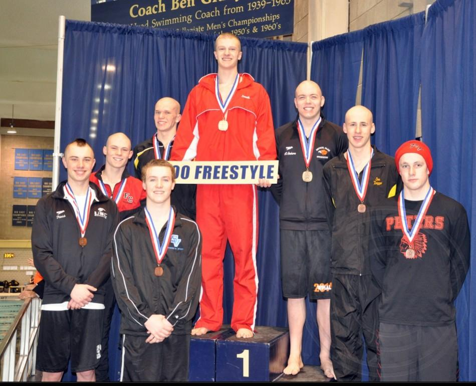 North Hills swimmer freestyles into states
