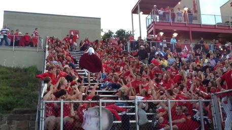 The Student Section parts the Red Sea