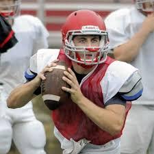 Quarterback and Team Captain Jake Bruder