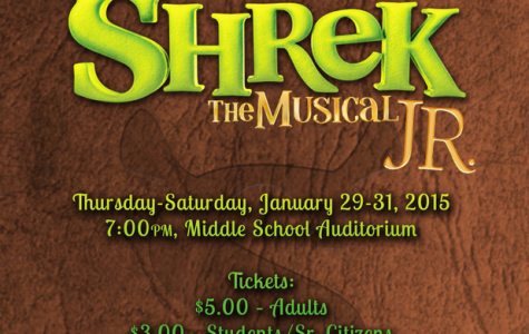 """Shrek the Musical Jr."" swamps the hilltop January 28th"