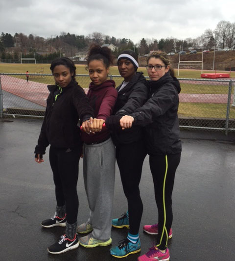 The 4x100 meter relay team is seeking vengeance after narrowly missing a return trip to states last year.