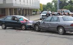 NH SADD Club demonstrates its annual Mock Crash