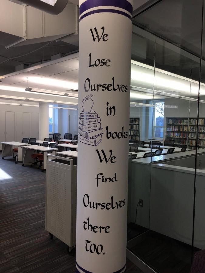 North Hills Art Department adding warmth and life to new library's appearance