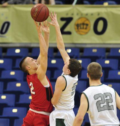 North Hills Boys Varsity Basketball bodies Shaler