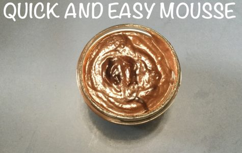 Quick and Easy Mousse!