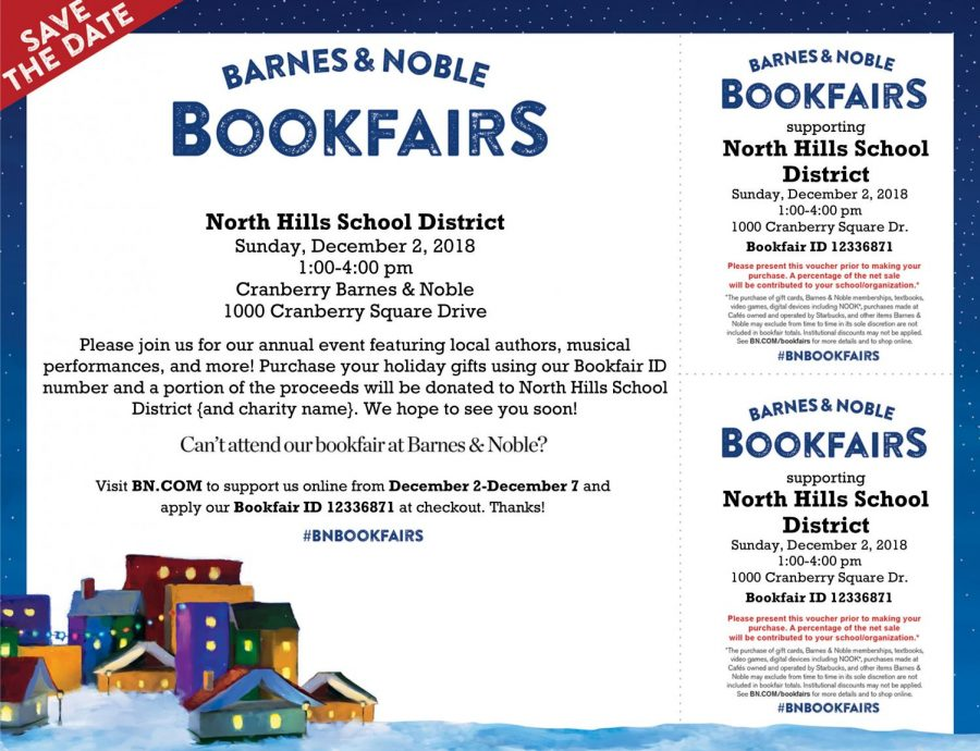 Fifth Annual Barnes And Noble Bookfair To Be Held December 2