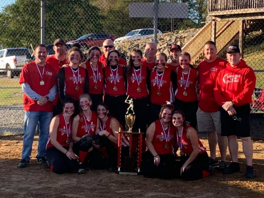 North+Hills+Varsity+Slow+Pitch+Softball+wins+their+first+championship