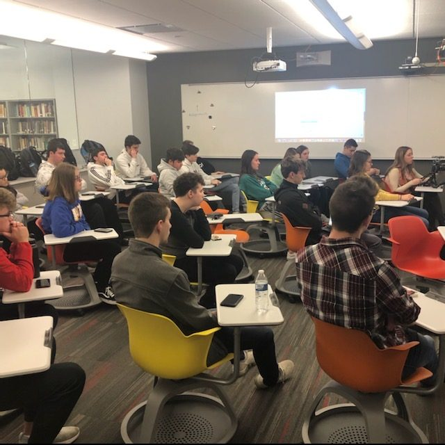 Author Spreads Information on Finances to High School Students