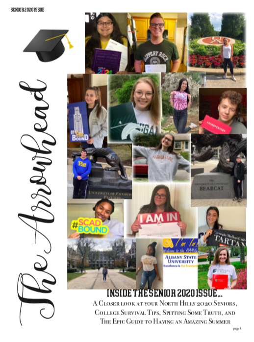 Read All About It! The SENIOR 2020 ISSUE!!!