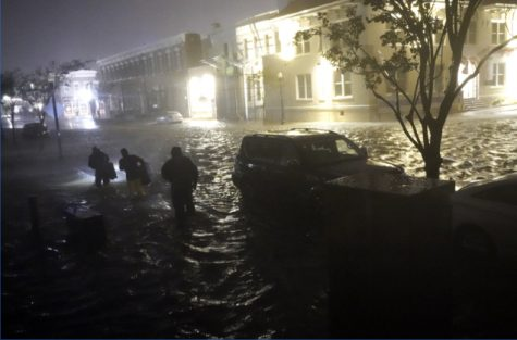 Flooding seen in Pensacola, Florida