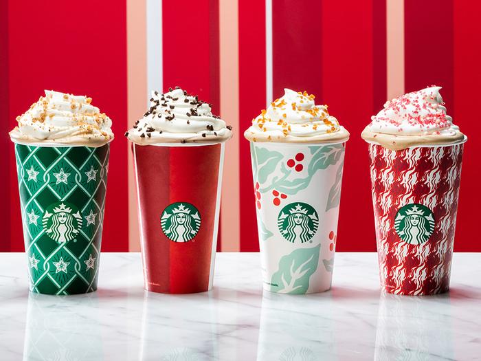 New Starbucks Seasonal Drinks